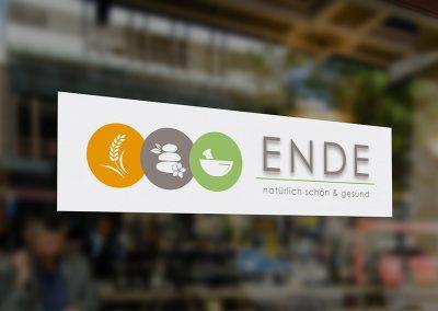 Logoentwicklung für das Reformhaus Ende