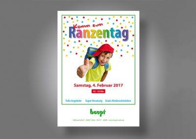 Flyer Ranzentag 2017 für Haupt