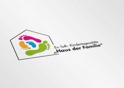 Logo für die Kindertagesstätte Haus der Familie