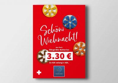 Plakatgestaltung für Schmidt & Keller GmbH Stuttgart
